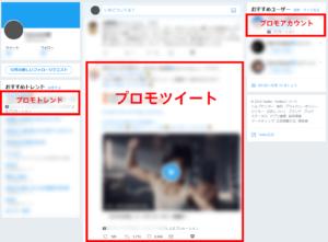 Twitter広告掲載面