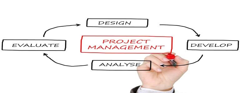 プロジェクトマネジメントを図解したイラスト