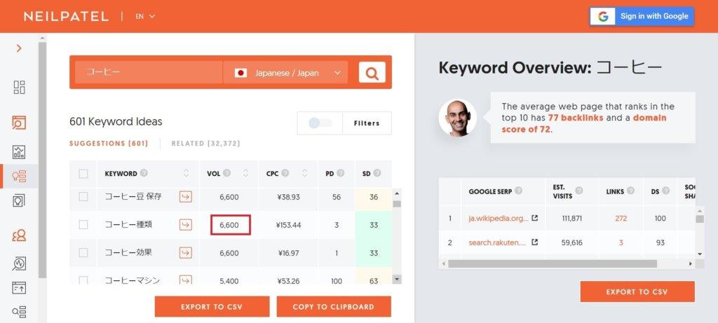 SEO対策のためのキーワードの検索ボリュームチェック方法