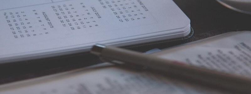 Webライティングの資格試験のスケジュール