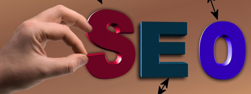 Search Engine Optimization と SEO の文字