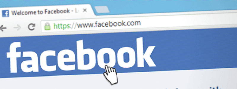 Facebookの表記画像