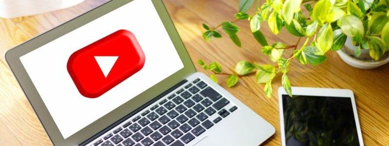 YouTubeというWEB集客ツールを活用しているイメージ画像