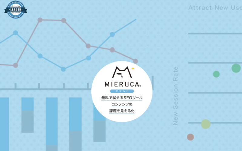 ヒートマップツール「MIERUCA」