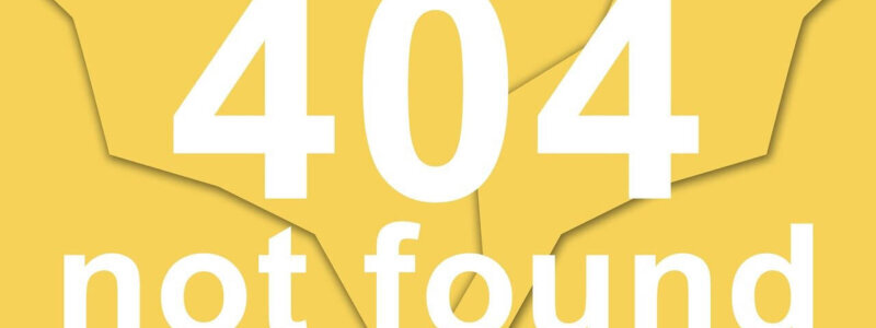 404 ページが見つかりません